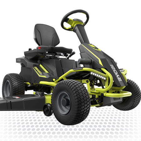 48V Electric Riding Lawn Mower