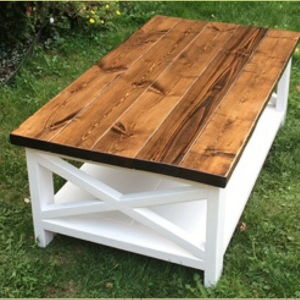 Table basse rustique